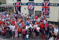 """Diamond Jubilee street party • <a style=""""font-size:0.8em;"""" href=""""http://www.flickr.com/photos/80046288@N08/7346029436/"""" target=""""_blank"""">View on Flickr</a>"""