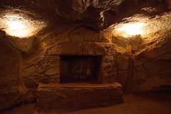 underground fireplace