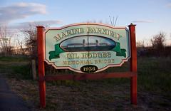 Gil Hodges Memorial Bridge Sign - Marine Parkw...