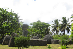 Southeastern View of the House of Taga, Tinian