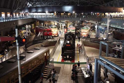 鉄道博物館 車両展示