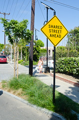 Shared Space Signage