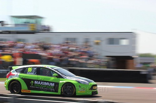 Stuart Lines  during the BTCC Weekend at Thruxton, May 2016