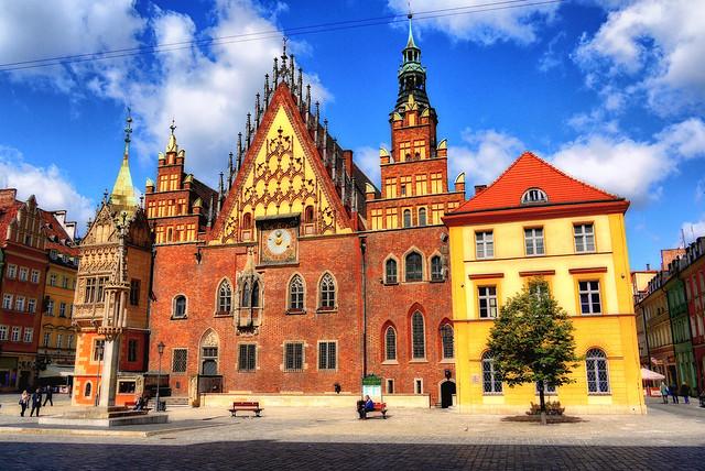 Poland Wrocław City Hall. May 2012