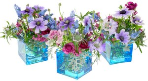 Spring Bloom Bouquets — David Kesler, Floral Design Institute, Inc., in Portland, Ore.