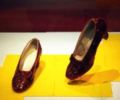 Ruby slippers from the Wizard of Oz - Smithson...