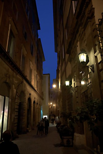 Evening in Rome