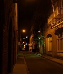 A peek down a North Beach alley