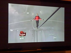 Nik Wallenda's tightrope walk over Niagara Fal...