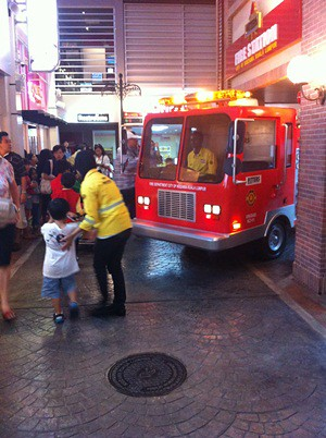 Kidzania Fire Engine