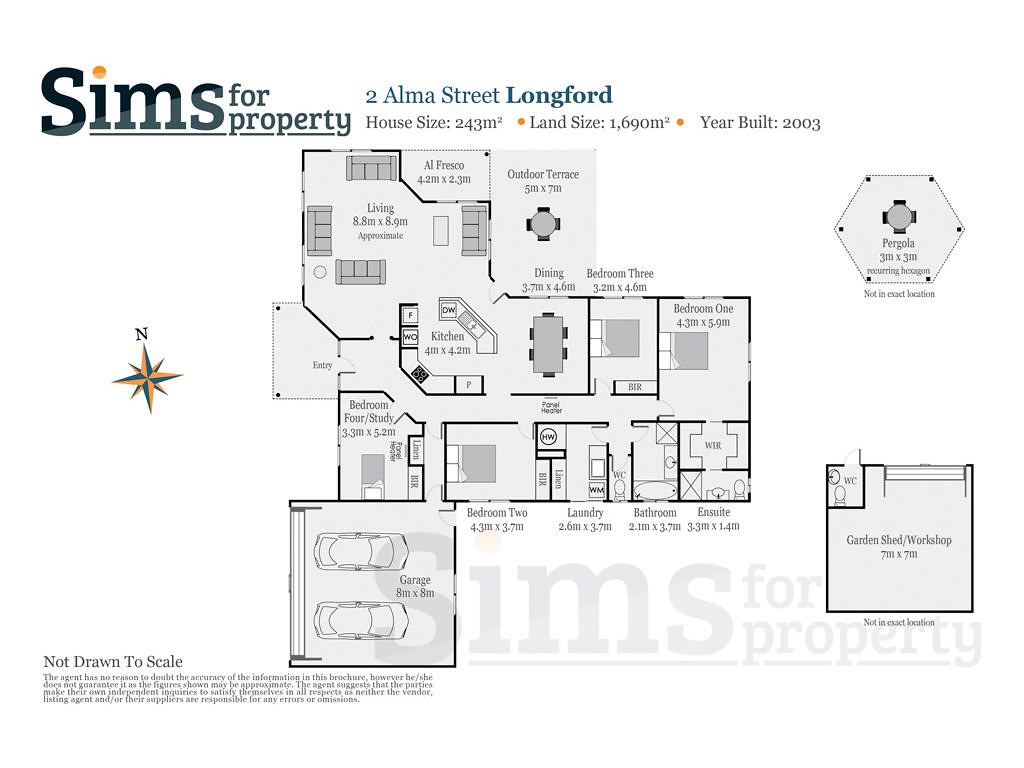 Property Report Of 2 Alma Street Longford Tas