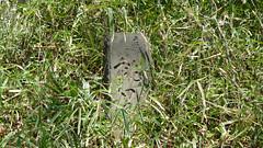 綱島公園の石標(神奈川県横浜市港北区)(Stone at Tsunashima Park, Yokohama, Japan)