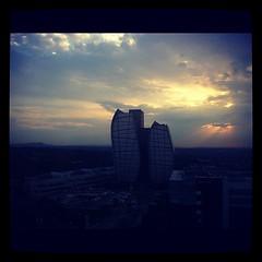 Gorgeous #sunset over #Johannesburg #joburg #jbn