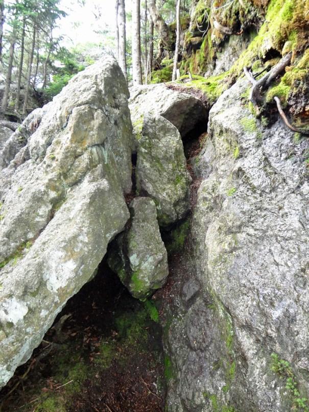 Rock Climb on Mt. Jefferson Castle Trail