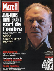 COUVERTURE DU PARIS MATCH N°2867 : JEAN-LOUIS ...