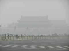 Tiananmen Square and Gate of Heavenly Peace, B...