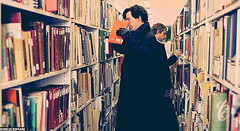 Sherlock goes to the Library