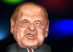 Sheldon Adelson - Caricature