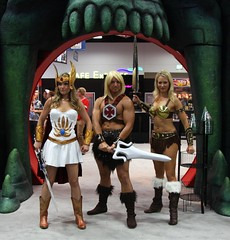 She-Ra, He-Man, and Teela