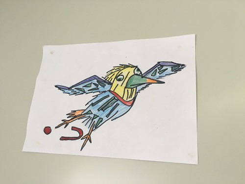 Pelico dessiné à la mode cubique : félicitations à l'artiste, c'est magnifique !