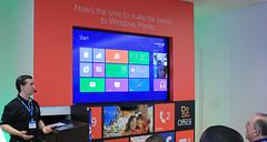 Windows 8 on the big screen!