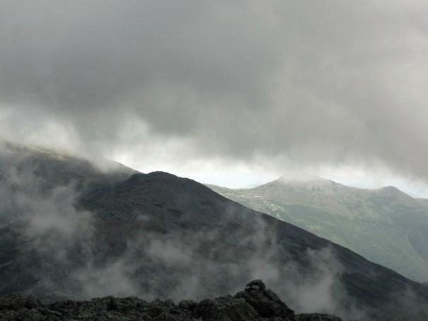 View of Mt. Washington from Mt. Jefferson Summit
