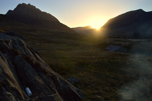 Sunset Over Tryfan