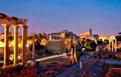 Roman Forum and surroundings
