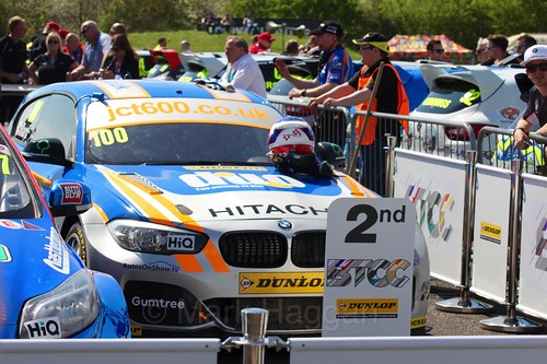 Rob Collard during the BTCC Weekend at Thruxton, May 2016