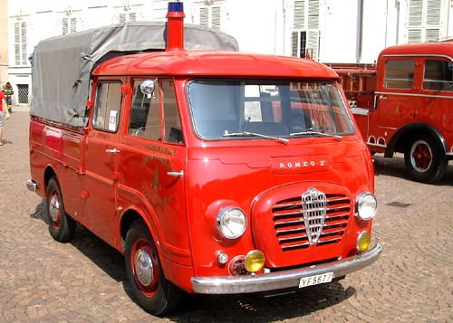Alfa Romeo Romeo doppia cabina VVFF