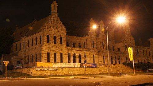 Haunted Fremantle Lunatic Asylum after midnight