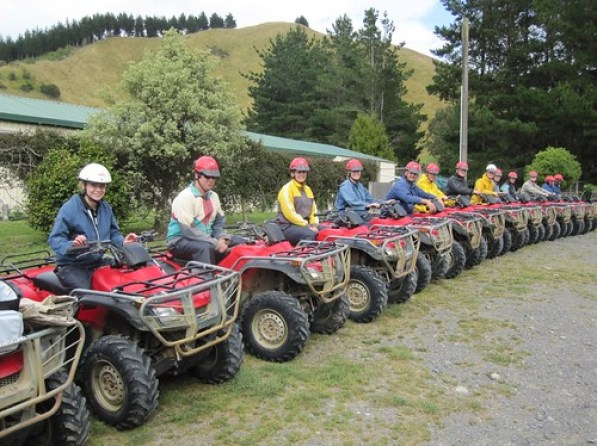 Quad Biking, Wellington