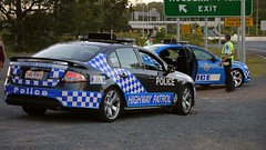 Queensland Police Service Traffic Branch Falco...