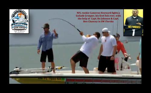 tarpon tenacity snook floridafishing snookfishing nflplayers tarponfishing nflrookies blainegabbert jjwatt bocagrandefishing cameronheyward goliathgrouperfishing gatoradeseverythingtoprove