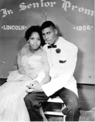 Portrait of African American couple at Lincoln...