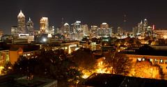 Midtown Atlanta above Georgia Tech