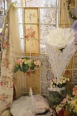 Flowers & lace...