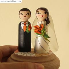 Figuras de Boda personalizadas: Andrea y Diego