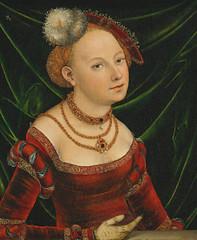 [ C ] Lucas Cranach the Younger - Portrait of ...
