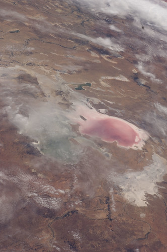Lake Eyre Floods, South Australia (NASA, Inter...