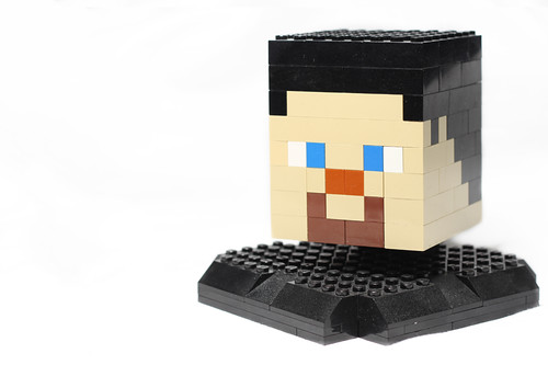 Minecraft Wobbly Head by Bohman, on Flickr