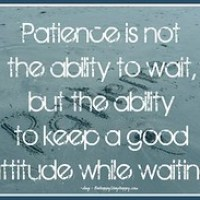 Should More Patience and Understanding be in Your Future?