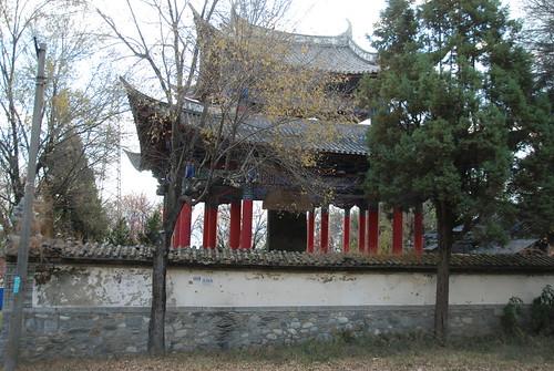 Dali.Stèle commémorant la coquête du Yunnan pa...