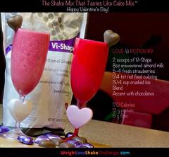 Visalus Shake Drink - Love Potion #9