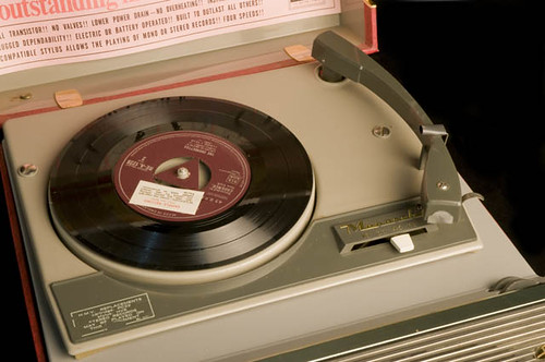 His Master's Voice (HMV) Monaco Portable Recor...
