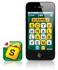 Scramble With Friends iPhone App