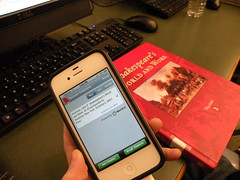 Tools of Research:  EasyBib Mobile App and Books