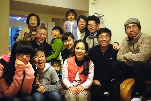 2012中壢的龍年合照