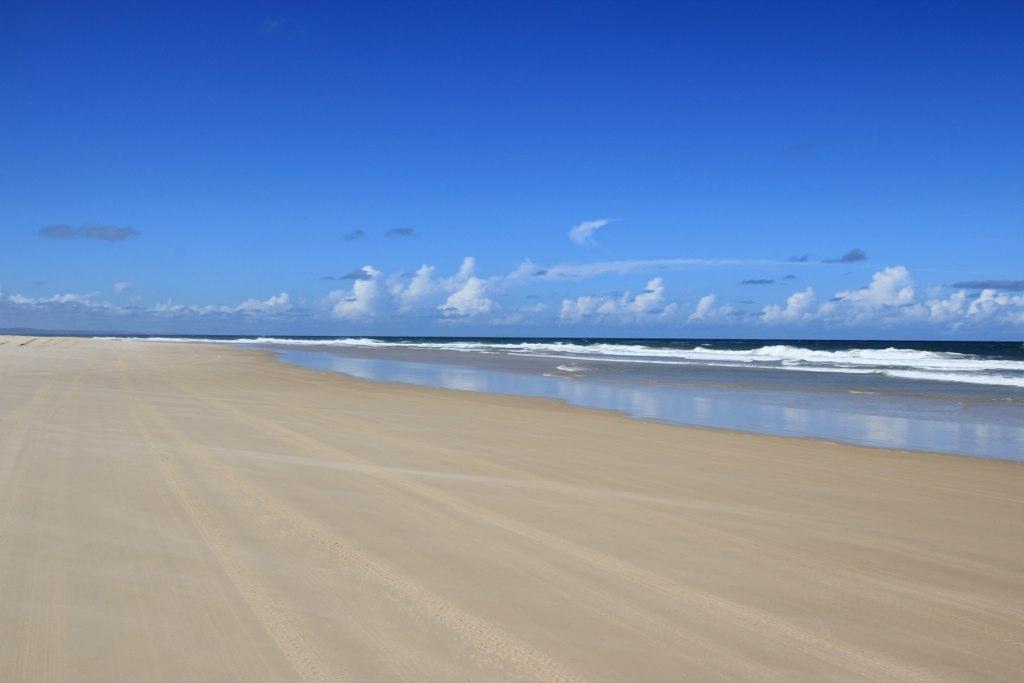 75 Mile Beach-  Fraser Island, Australia