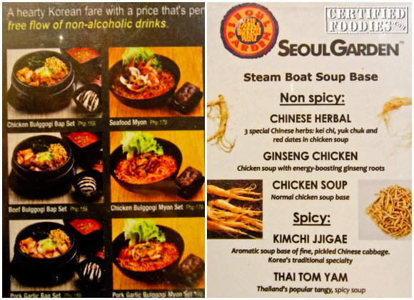 Seoul Garden Korean Buffet In Sm North Edsa Review